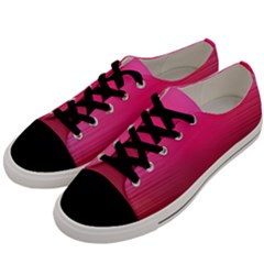 Line Pink Space Sexy Rainbow Men s Low Top Canvas Sneakers by Mariart