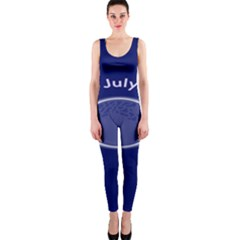 Moon July Blue Space Onepiece Catsuit by Mariart