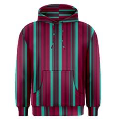 Red Blue Line Vertical Men s Pullover Hoodie