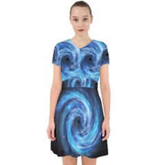 Hole Space Galaxy Star Planet Adorable In Chiffon Dress