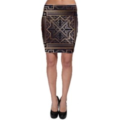Art Nouveau Bodycon Skirt