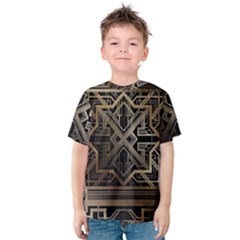 Art Nouveau Kids  Cotton Tee