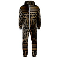 Art Nouveau Hooded Jumpsuit (men)