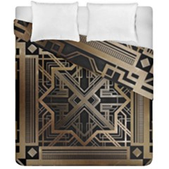 Art Nouveau Duvet Cover Double Side (california King Size)