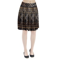 Art Nouveau Pleated Skirt