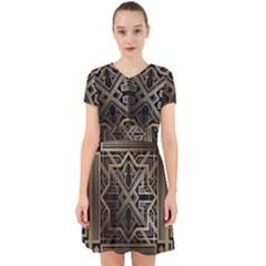 Art Nouveau Adorable In Chiffon Dress