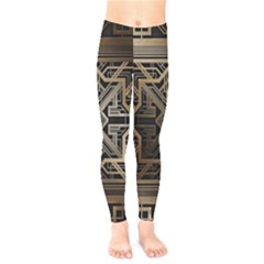 Art Nouveau Kids  Legging