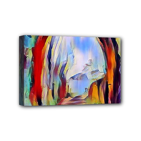 Abstract Tunnel Mini Canvas 6  X 4