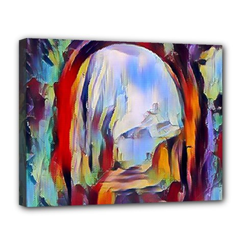 Abstract Tunnel Canvas 14  X 11