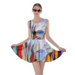 Abstract Tunnel Skater Dress