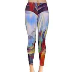 Abstract Tunnel Leggings