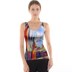 Abstract Tunnel Tank Top