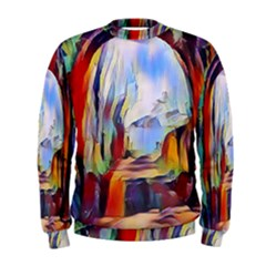 Abstract Tunnel Men s Sweatshirt