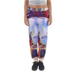 Abstract Tunnel Women s Jogger Sweatpants