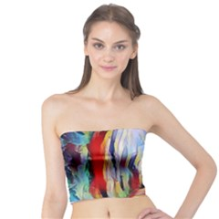 Abstract Tunnel Tube Top