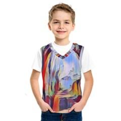 Abstract Tunnel Kids  Sportswear