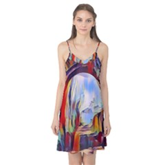 Abstract Tunnel Camis Nightgown