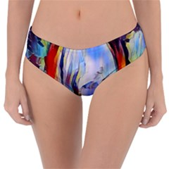 Abstract Tunnel Reversible Classic Bikini Bottoms