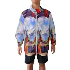 Abstract Tunnel Wind Breaker (kids)