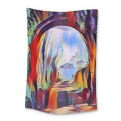 Abstract Tunnel Small Tapestry