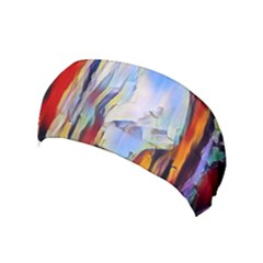 Abstract Tunnel Yoga Headband