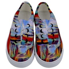Abstract Tunnel Kids  Classic Low Top Sneakers