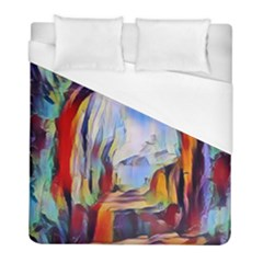 Abstract Tunnel Duvet Cover (full/ Double Size)