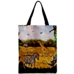african fantasy zippered tote - Zipper Classic Tote Bag