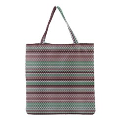 Winter Pattern 3 Grocery Tote Bag by tarastyle