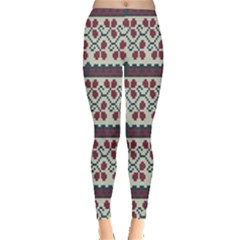 Winter Pattern 5 Leggings  by tarastyle