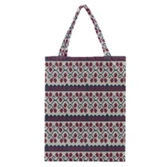 Winter Pattern 5 Classic Tote Bag by tarastyle