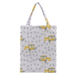 Winter Pattern 7 Classic Tote Bag by tarastyle
