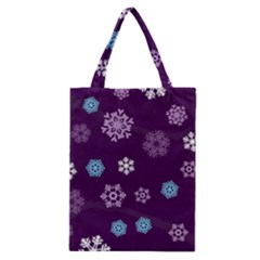 Winter Pattern 10 Classic Tote Bag by tarastyle