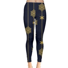 Winter Pattern 15 Leggings  by tarastyle