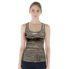Shabbychicwoodwall Racer Back Sports Top by 8fugoso