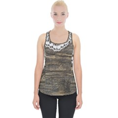 Shabbychicwoodwall Piece Up Tank Top by 8fugoso