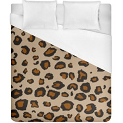 Leopard Print Duvet Cover (california King Size) by TRENDYcouture