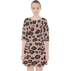 Leopard Print Pocket Dress