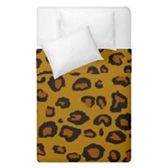 Leopard Duvet Cover Double Side (single Size) by DreamCanvas