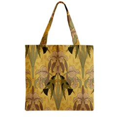 Art Nouveau Grocery Tote Bag by 8fugoso