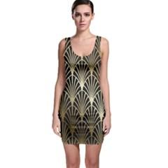 Art Deco Bodycon Dress by 8fugoso