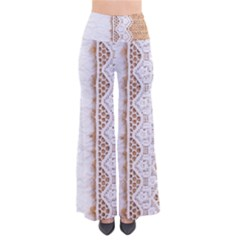 Parchement,lace And Burlap Pants by 8fugoso