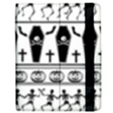 Halloween pattern Apple iPad 3/4 Flip Case View2