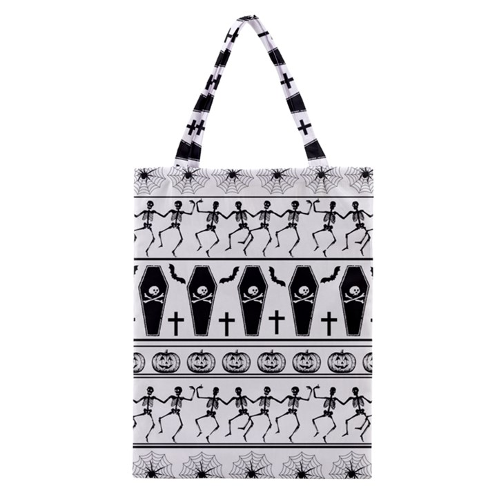 Halloween pattern Classic Tote Bag
