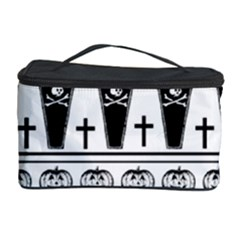 Halloween Pattern Cosmetic Storage Case by ValentinaDesign