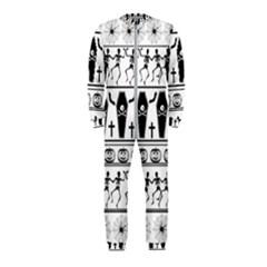 Halloween Pattern Onepiece Jumpsuit (kids)