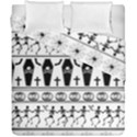 Halloween pattern Duvet Cover Double Side (California King Size) View1