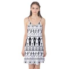 Halloween Pattern Camis Nightgown