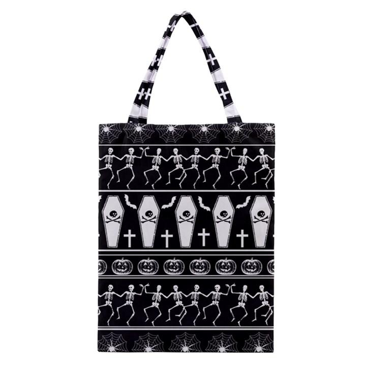 Halloween pattern Classic Tote Bag