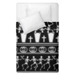 Halloween pattern Duvet Cover Double Side (Single Size)